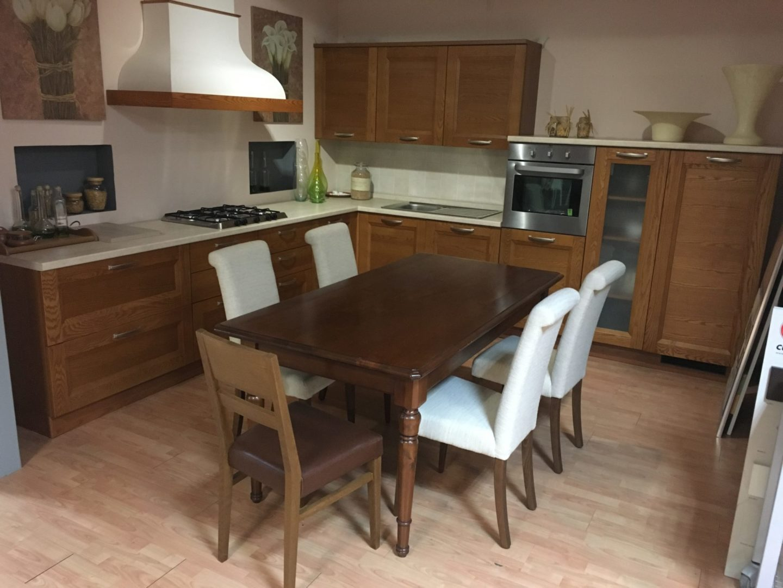 Cucina Componibile In Ciliegio : Cucina componibile anta telaio frassino tinta ciliegio u b b mobili